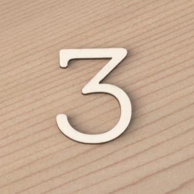 3cm Numbers