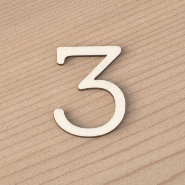 wooden number craft blanks 3