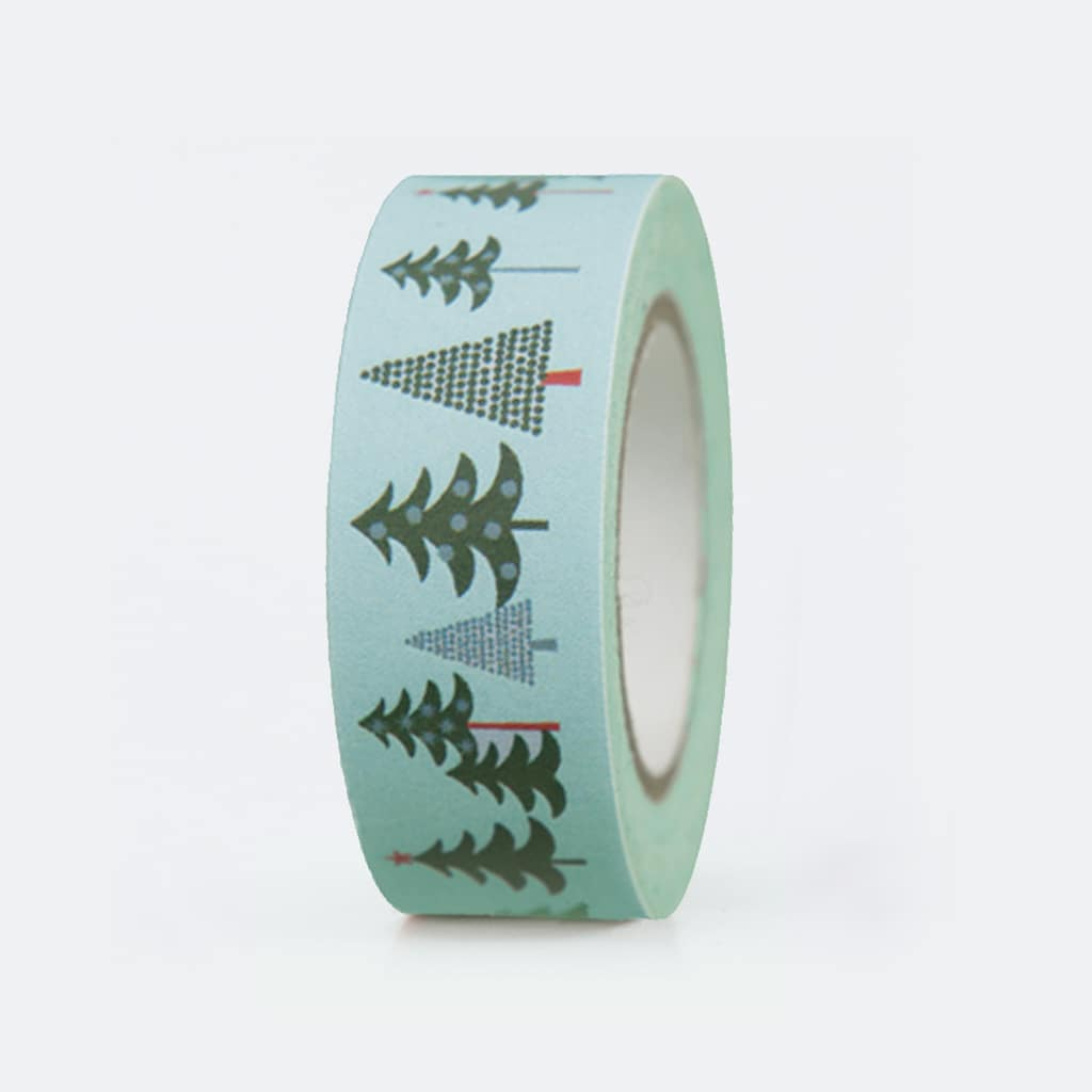 fir trees washi tape