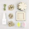 flower bunting craft kit contents