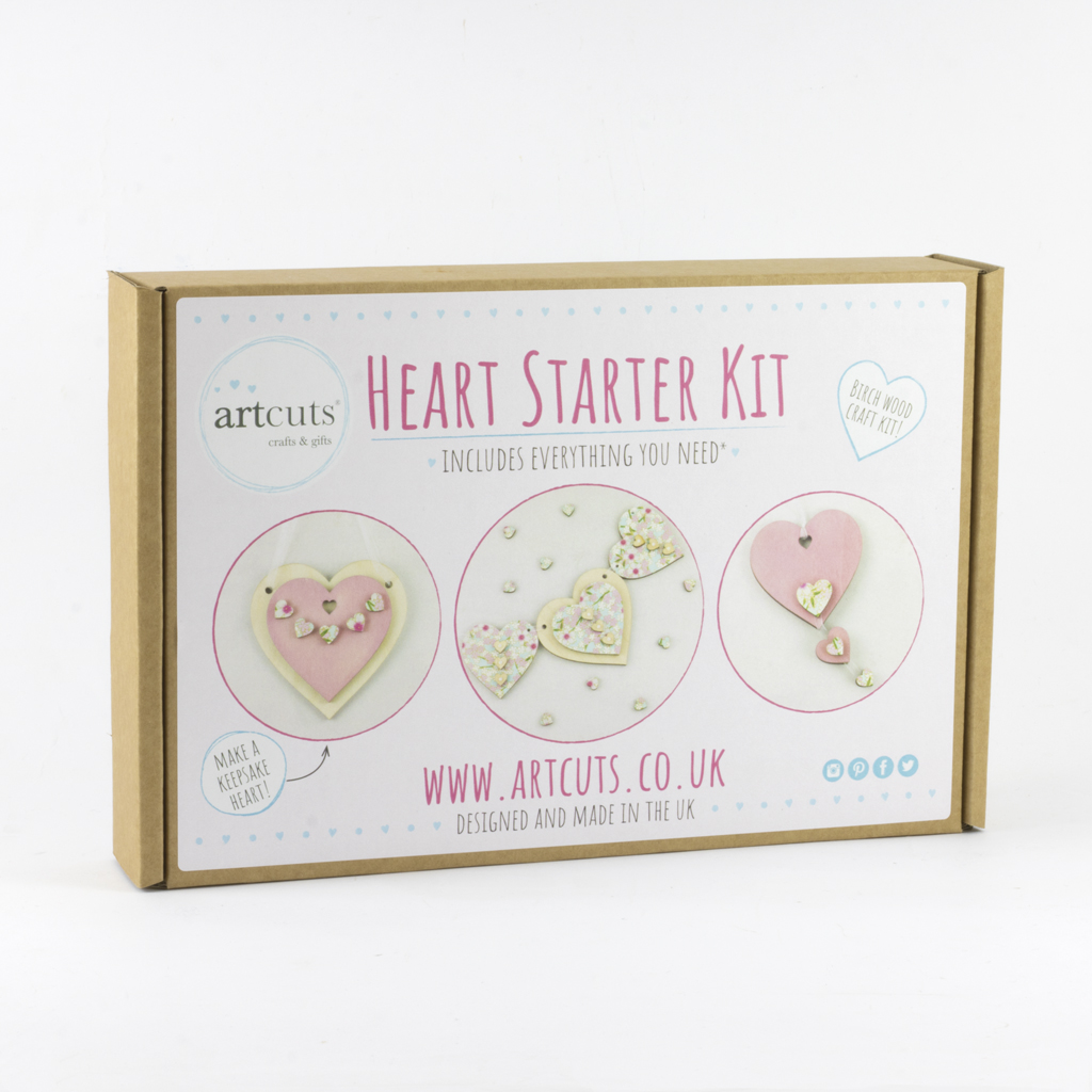Heart Starter Craft Kit