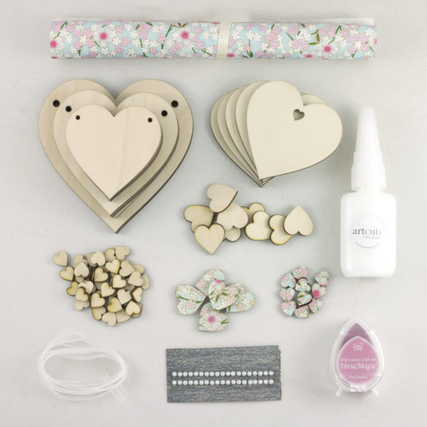 heart starter craft kit contents