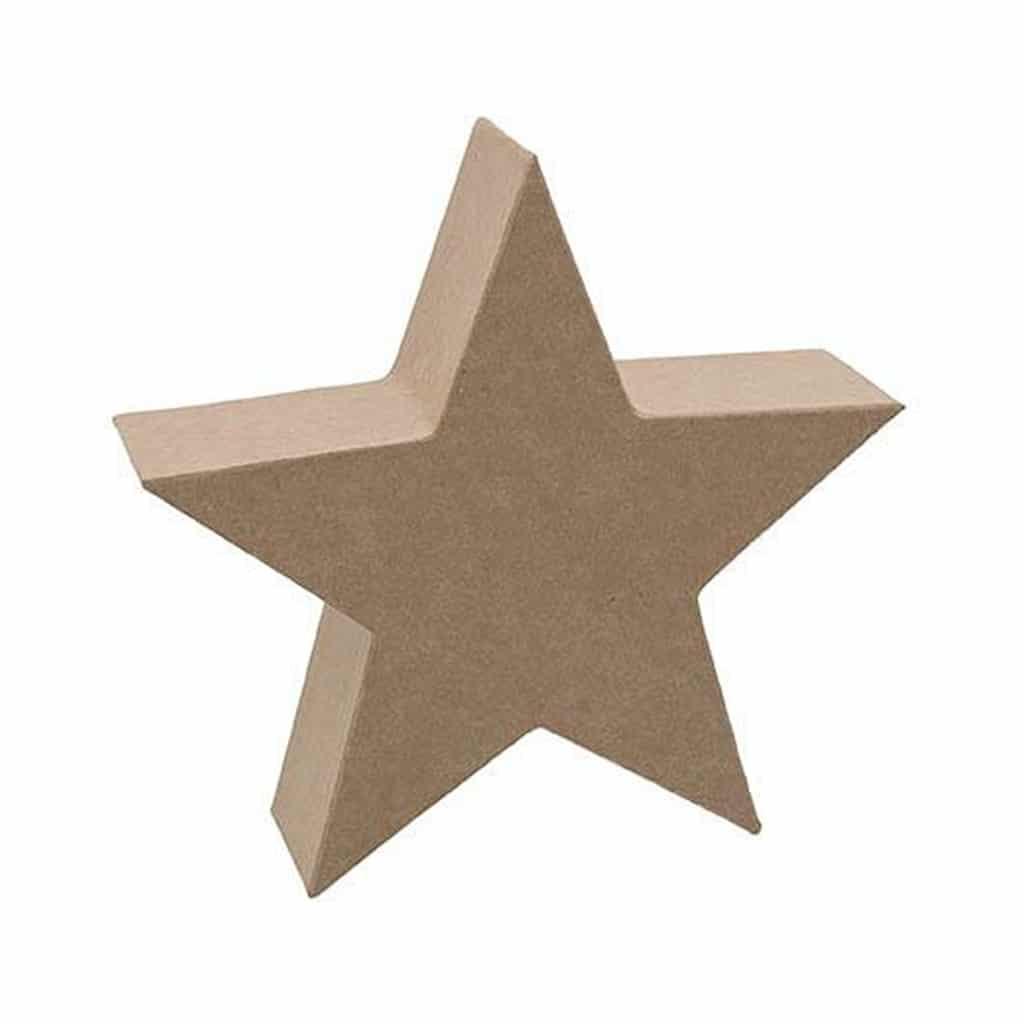 paper mache star