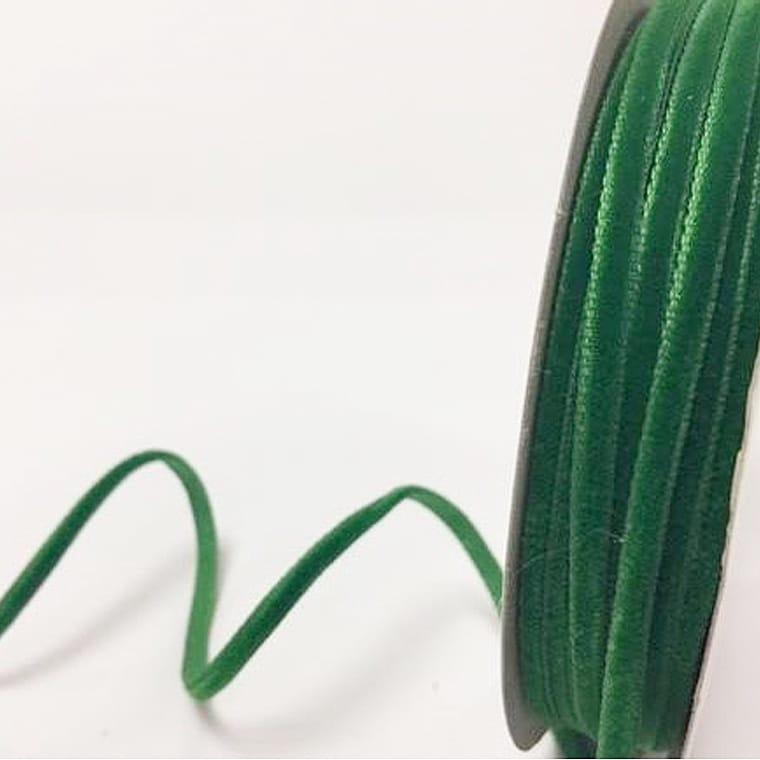 velvet ribbon emerald