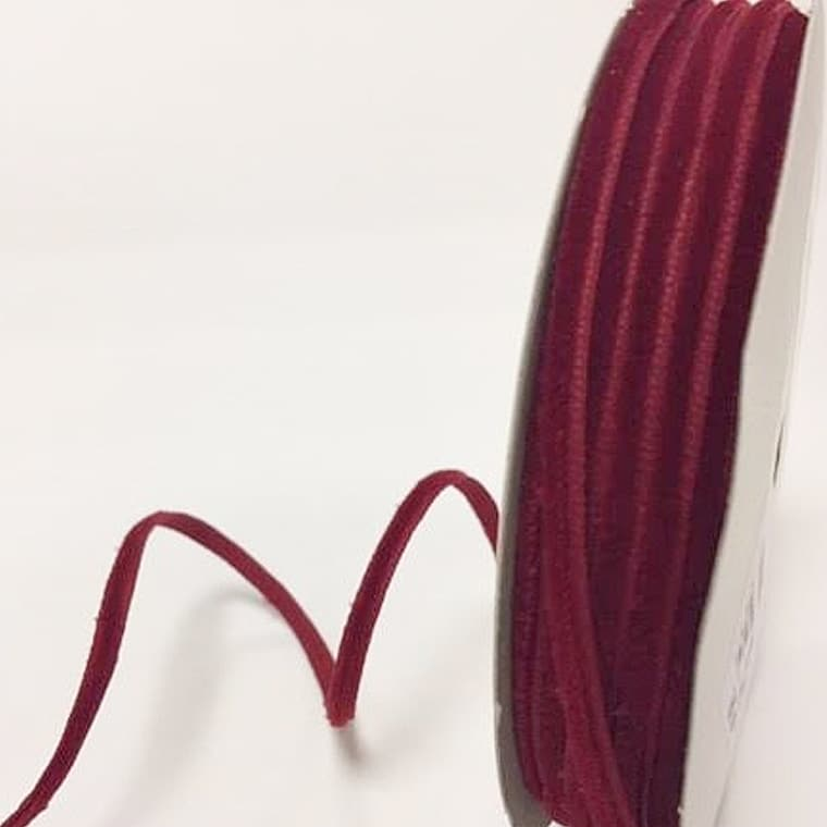 velvet ribbon cranberry