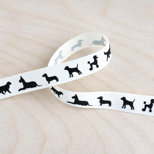 Dog print ribbon