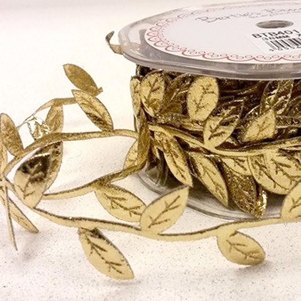 leaf trim gold