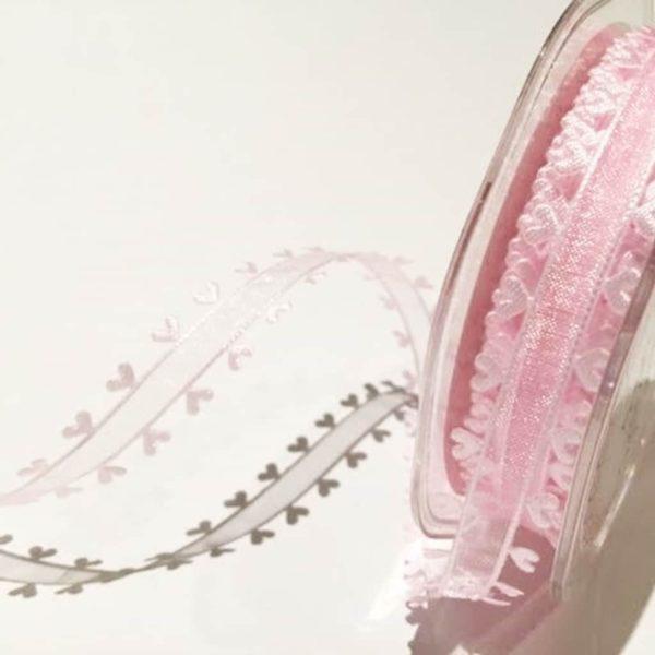 heart edge pink