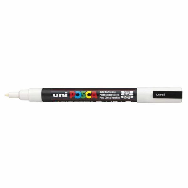posca paint pen white fine