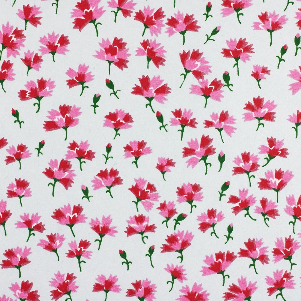 Japanese Chiyogami Paper Carnation 1010c