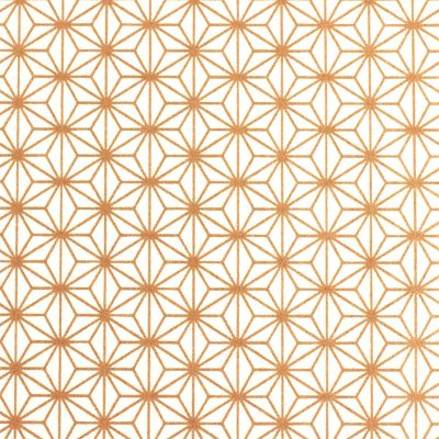 Japanese Chiyogami paper 1018c in rose gold geometrics
