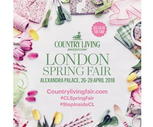 Country Living Show Spring at Alexandra Palace Logo