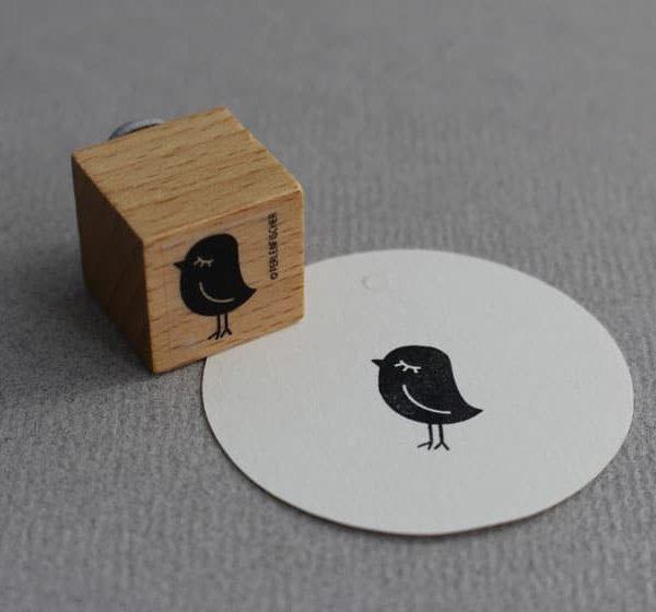 Little Birdie Rubber Stamp