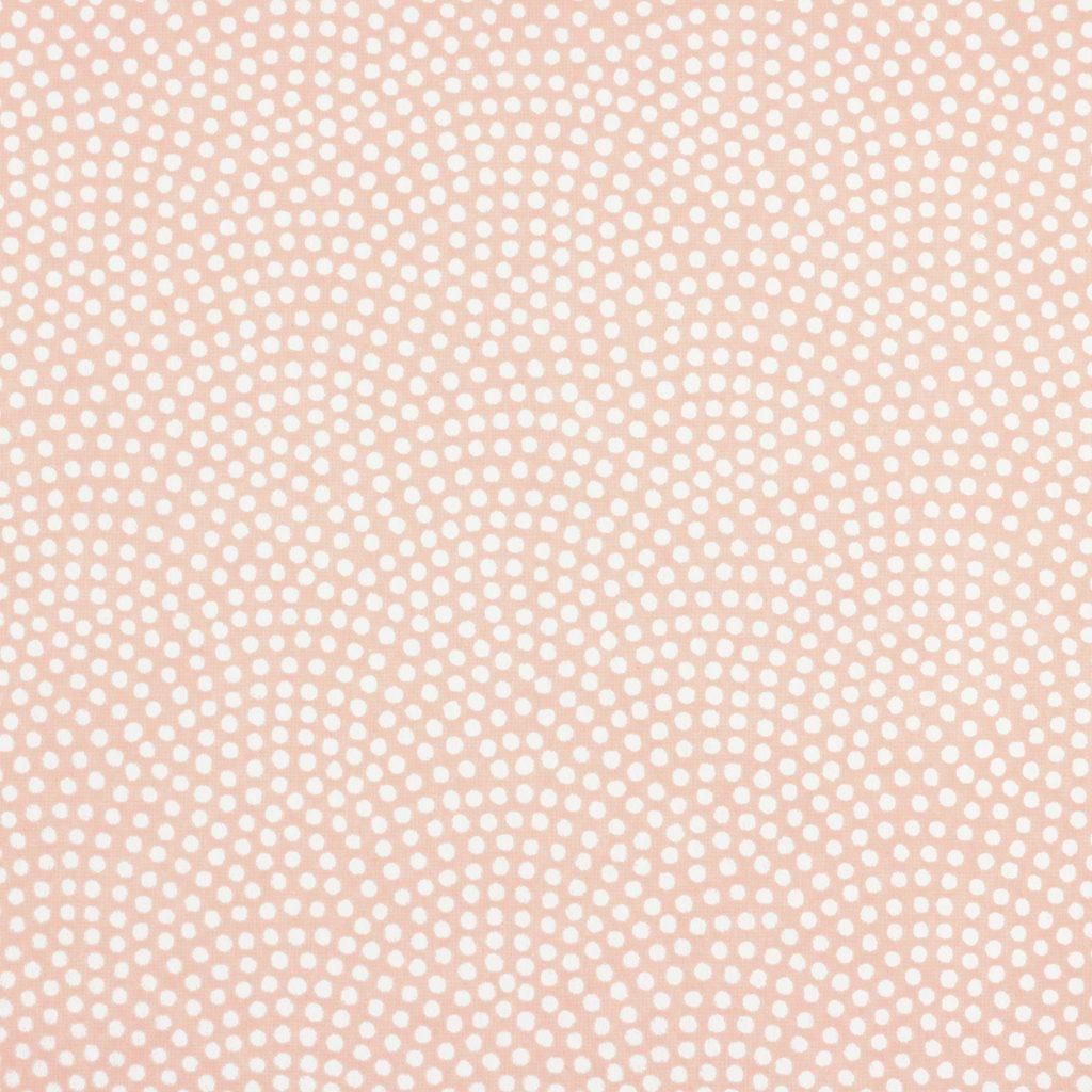 Japanese Chiyogami Paper Peach Polkadot 957c