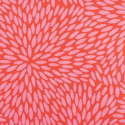 Japanese Chiyogami paper Pink Kaleidoscope 860c