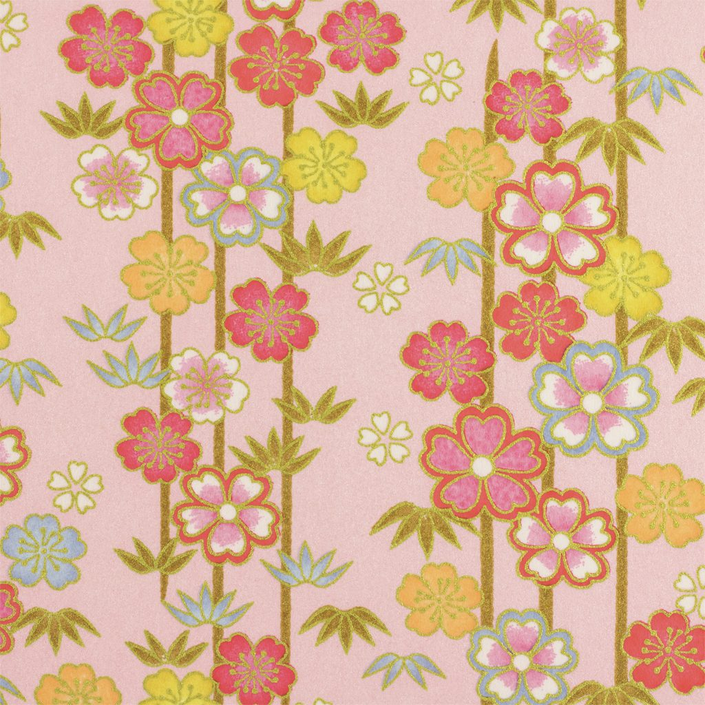 Japanese Chiyogami Paper Sweetheart 993c