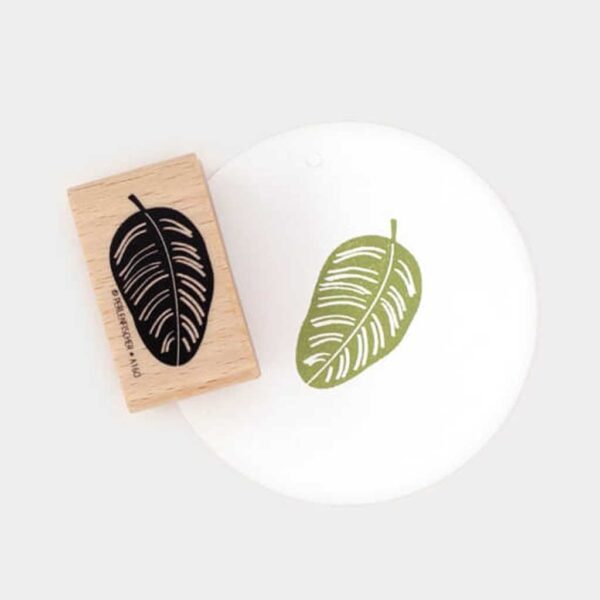 Calathea Rubber Stamp