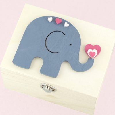 Artcuts Wooden Elephant Bunting