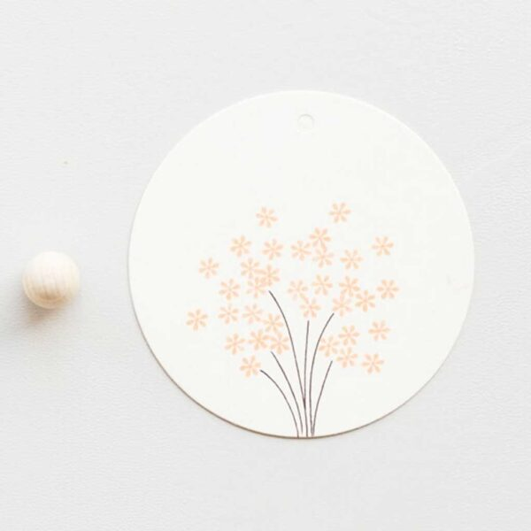 Daisy Mini Rubber Stamp