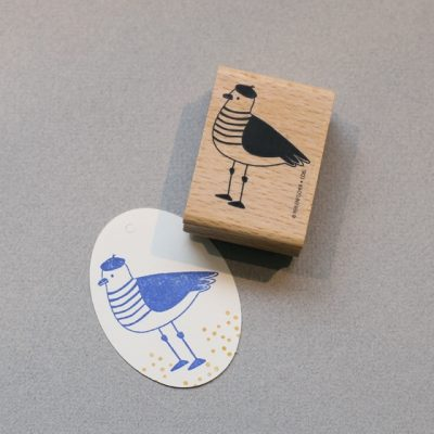 sea gull rubber stamp