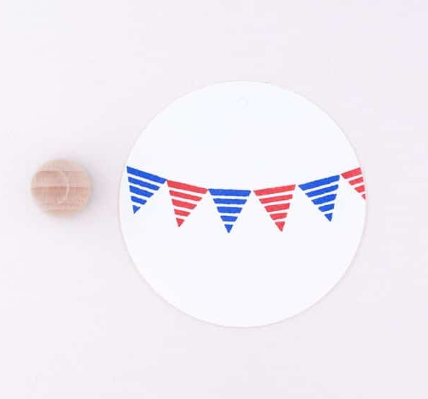 stripe flag bunting