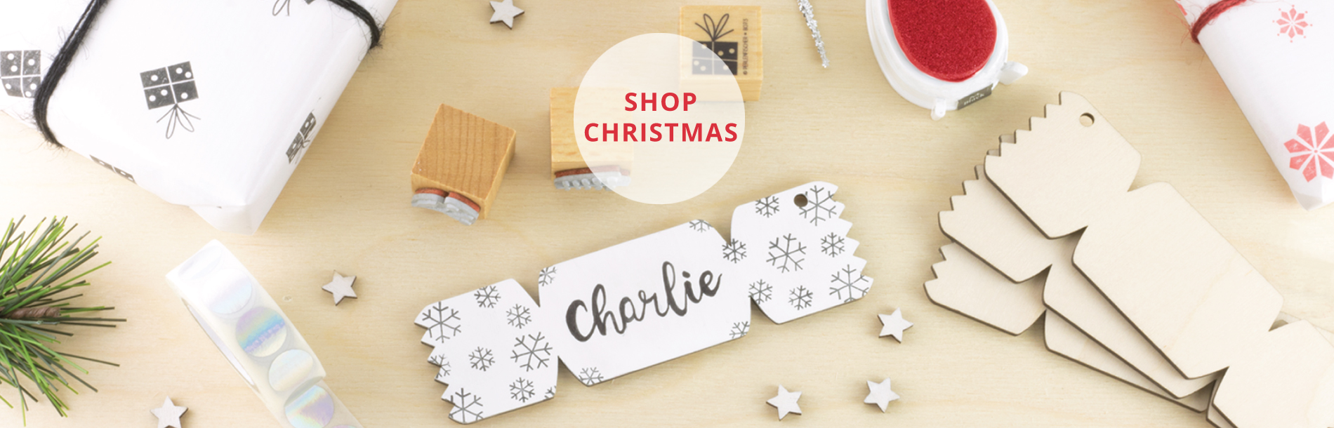 Wooden Christmas Blanks from Artcuts