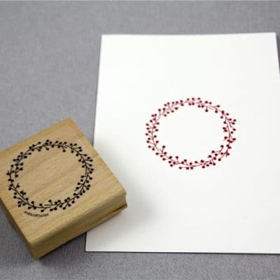 wreath stamp