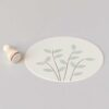Mini Petal Leaf Rubber Stamp by Perlenfischer