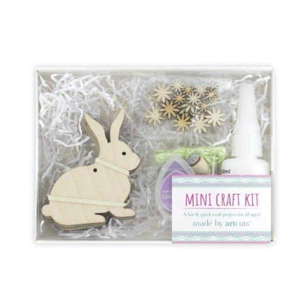 mini bunny craft kit