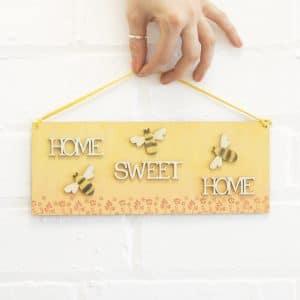 bumblebee plaque