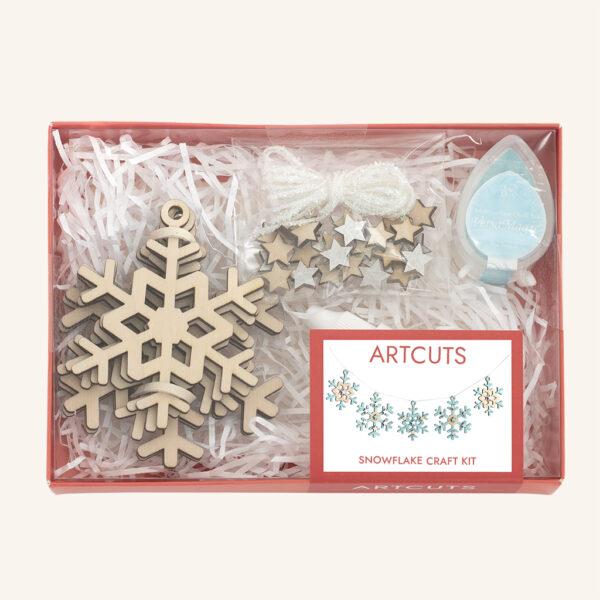Artcuts Snowflake Craft Kit