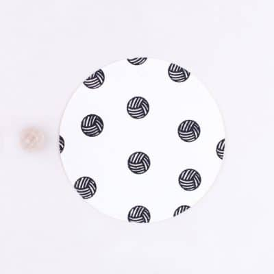 ball of wool rubber stamp
