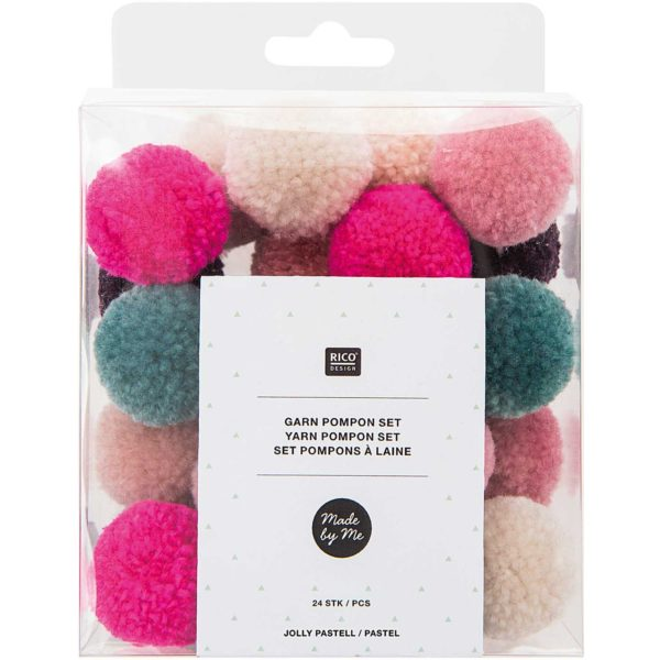 jolly pastel pompoms