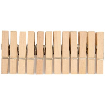 mini wooden pegs