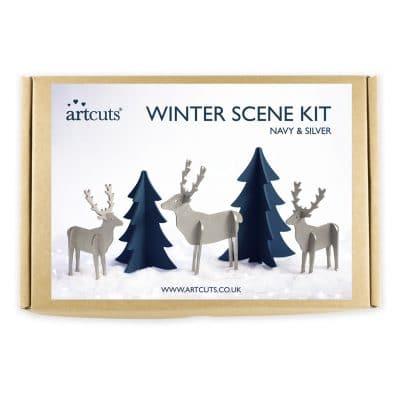 winter scene kit