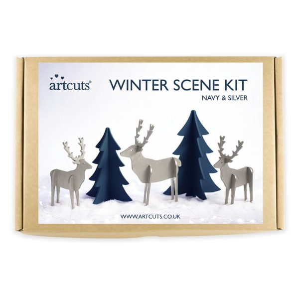 winter scene kit