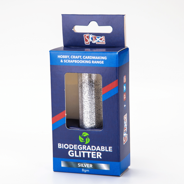 biodegradable glitter silver