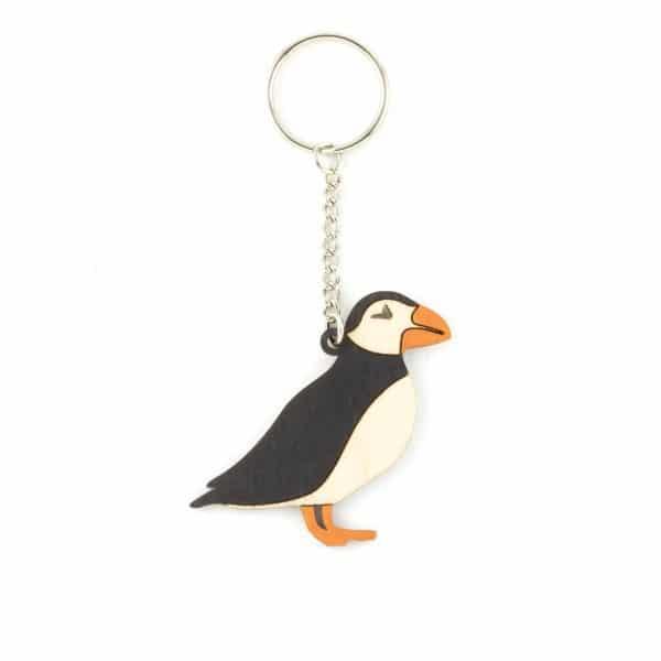 puffin key ring