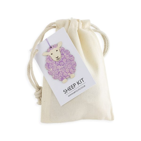 sheep kit purple colourway