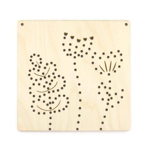 Artcuts wooden meadow plaque