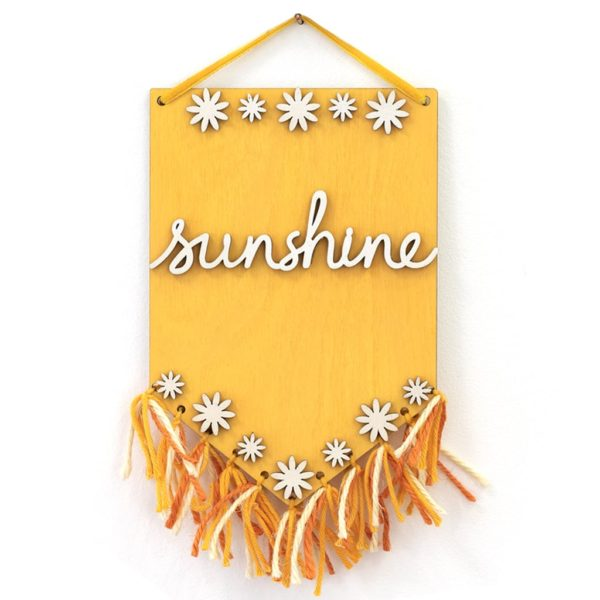 Wooden Sunshine Plaque