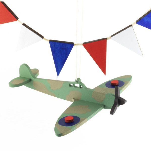 Artcuts Wooden Spitfire