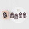 town house rubber stamp