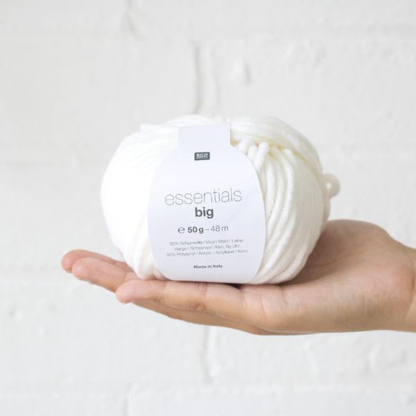 Big Essentials Wool Cream 001