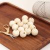 25mm Wooden Beads