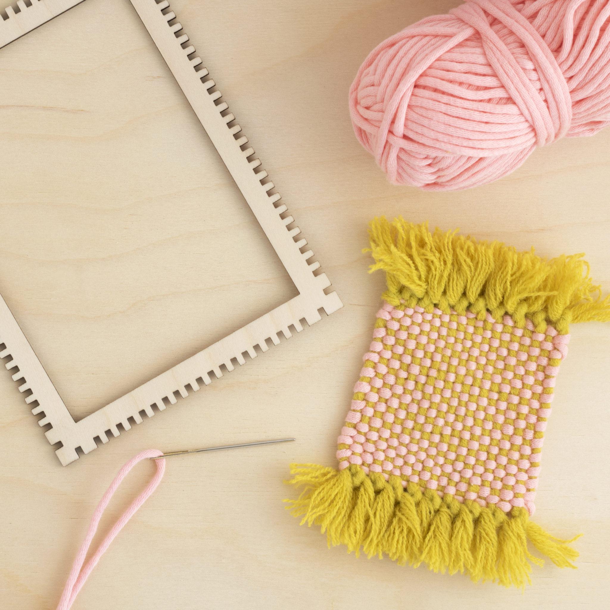 Artcuts Pink Plain Weave