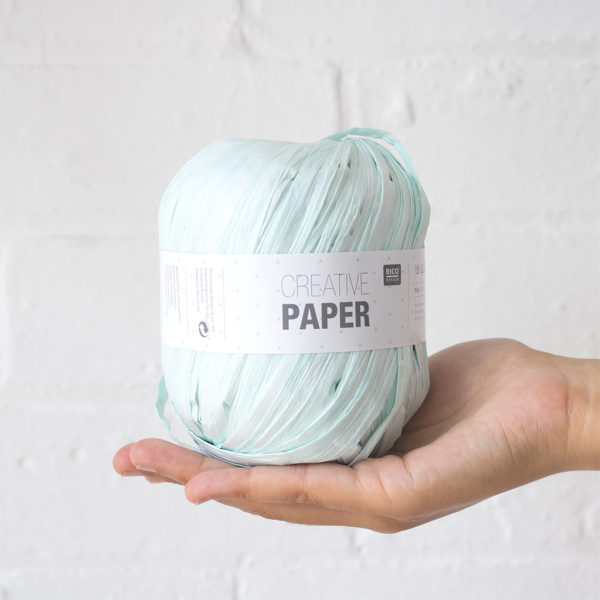 Rico Creative Paper Yarn Mint