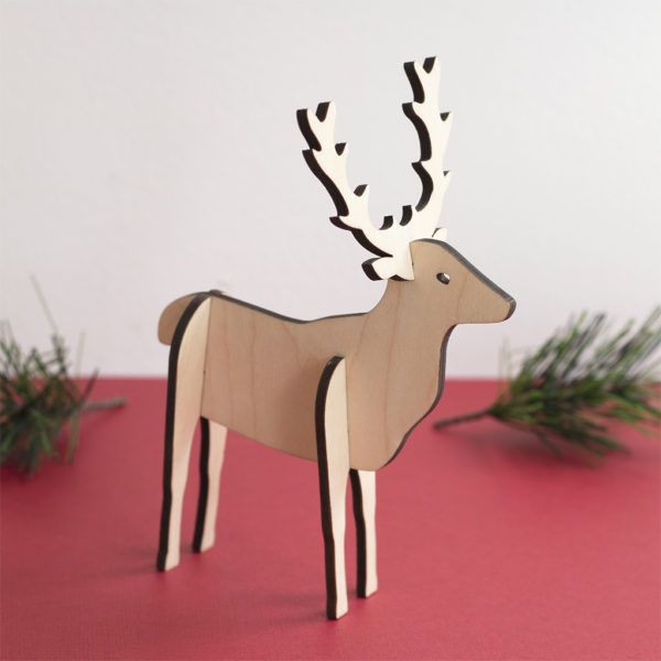 3D STANDING STAG