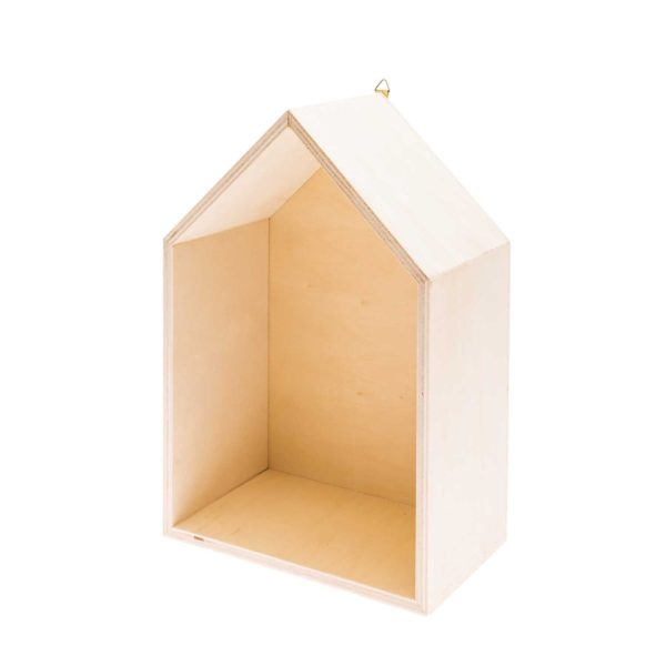 Wooden House Box