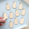 Mini baby penguin embellishments